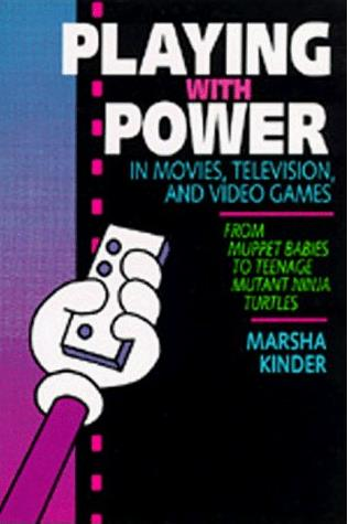 Bokomslag till boken: 'Playing with power in movies, television, and video games' där författaren Marsha Kinder lanserar begreppet *Transmedia'