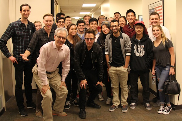James Gunn Visits SCA