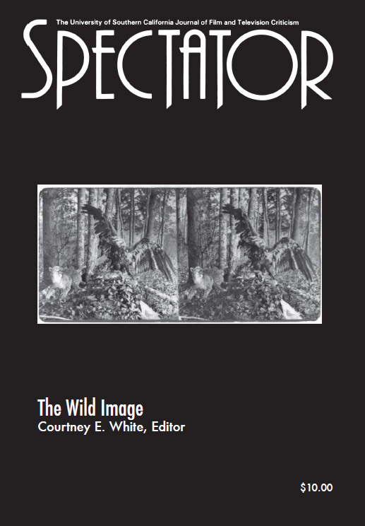 the cinematic spectator Journal for film and television criticism issued by university of southern california school of cinematic arts.