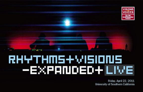Rhythms & Visions postcard