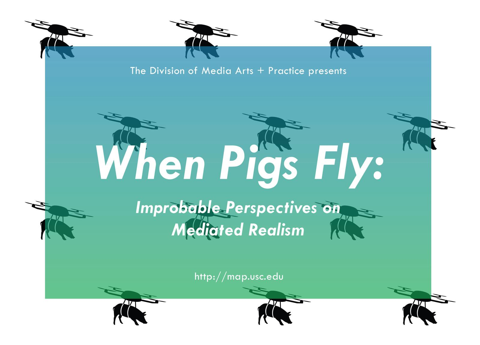 When Pig Fly Exhibition Logo March